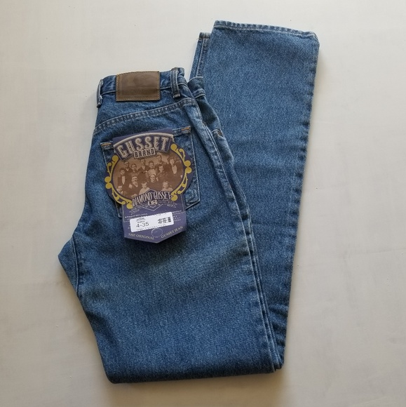Diamond Gusset Jeans Women/'s Stonewash Relaxed Fit
